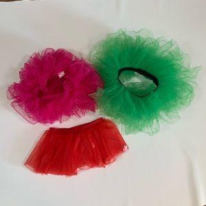 Other - 🍀3/$25 3 Adult Tutu Skirts